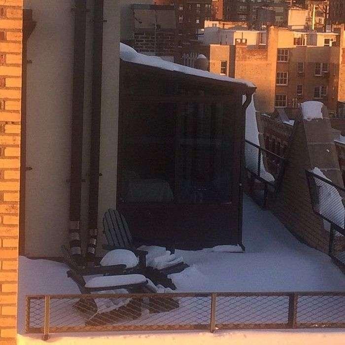 Аномальний снігопад в Нью-Йорку став причиною надзвичайного стану (24 фото)