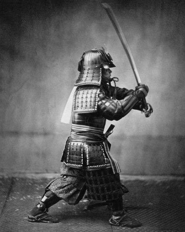 Автентичні знімки японських самураїв (38 фото)