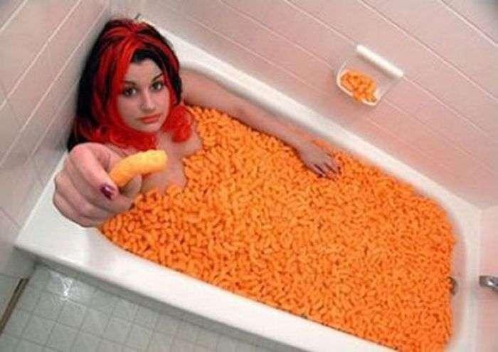 Митися у ванній - вже не модно (39 фото)