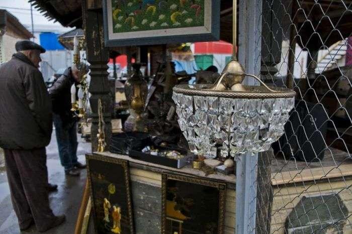Фотоекскурсія по блошиному ринку в Москві (48 фото)