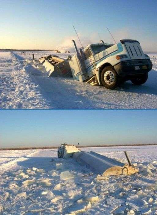 Незрозумілі та дивні аварії (36 фото)
