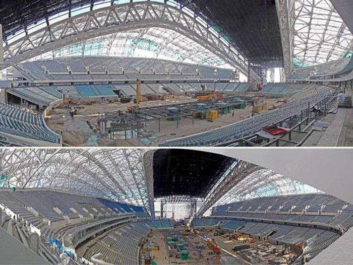Олімпійське будівництво в Сочі (98 фото)