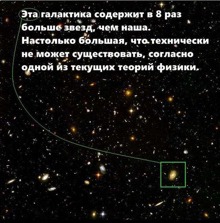 Неймовірні розміри космічних тіл (7 фото)