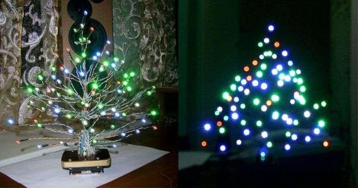 Креативна новорічна ялинка своїми руками (8 фото)
