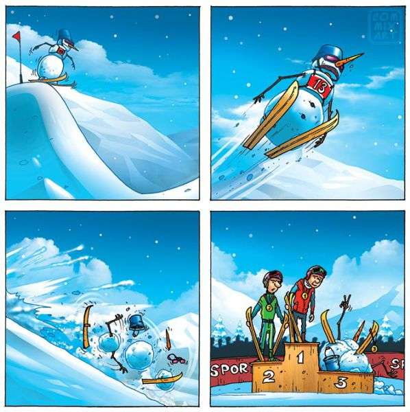Підбірка добрих коміксів (50 фото)