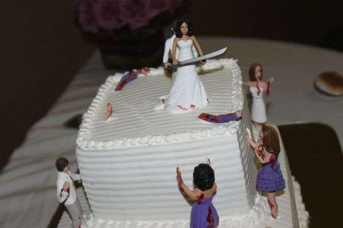 Прикольні весільні знімки (61 фото)