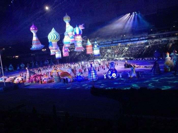 Генеральна репетиція церемонії відкриття Олімпіади 2014 в Сочі (6 фото + відео)