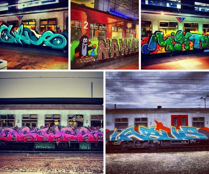 Фотографії з соц профілів російських графіті-художників (23 фото)