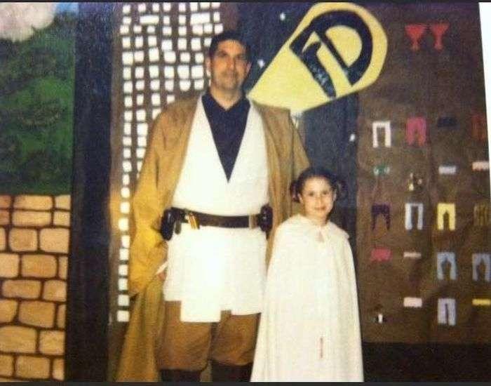 Зворушлива історія батька і дочки (10 фото)