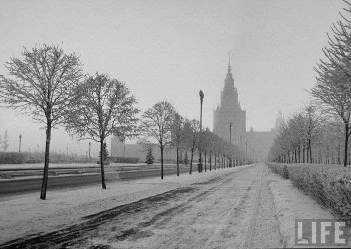 Як виглядала Москва в грудні 1959 року (30 фото)
