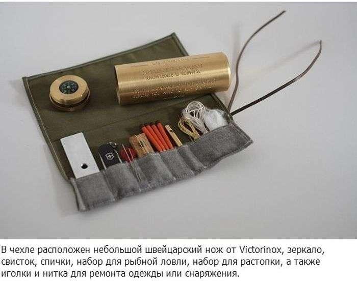 Креативний та мініатюрний набір для виживання (4 фото)