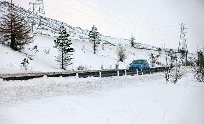 Шторм Дірк обрушився на Західну Європу напередодні Різдва (43 фото)