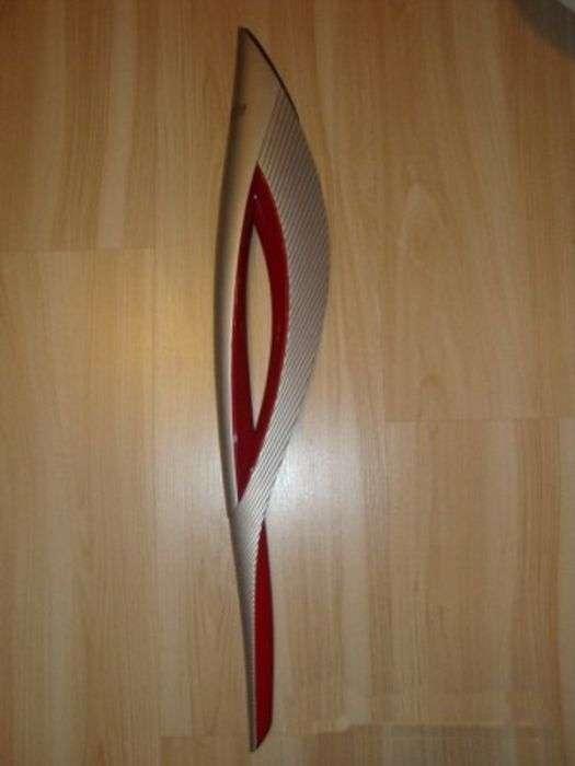 З чого складається олімпійський факел (16 фото)