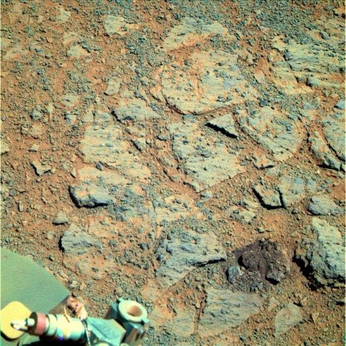 Дивна знахідка марсохода Opportunity (5 фото)