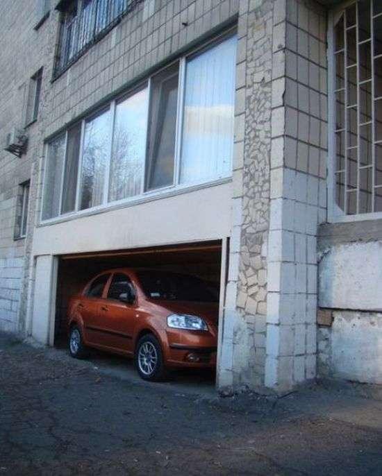 Майстерня парковка (2 фото)