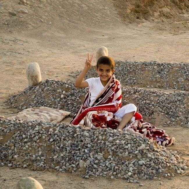 Правда про несамовитої фотографії сирійського хлопчика (2 фото)