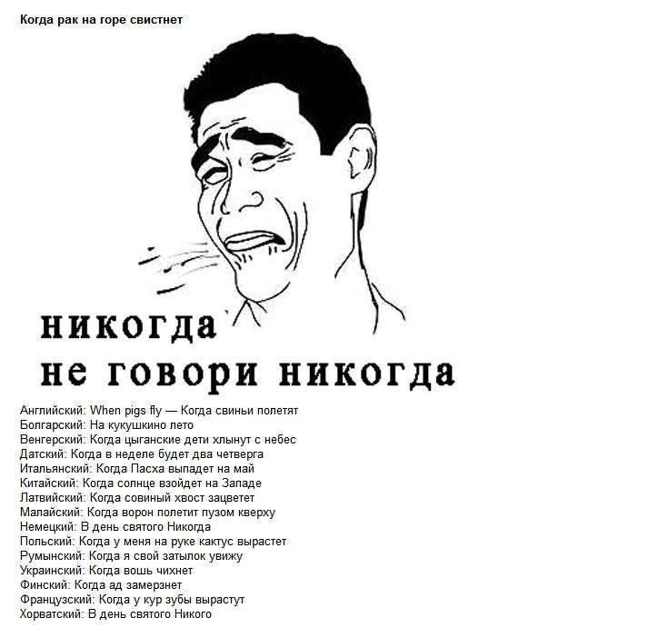 Крилаті фрази в перекладі на різні мови світу (5 фото)