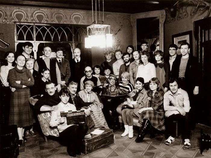 Архівні фотографії зі зйомок легендарних радянських фільмів (78 фото)
