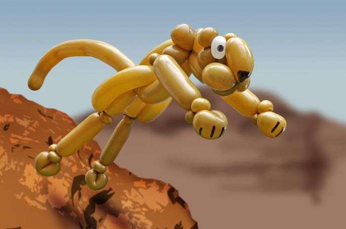 Креативні фігури з повітряних кульок (18 фото)