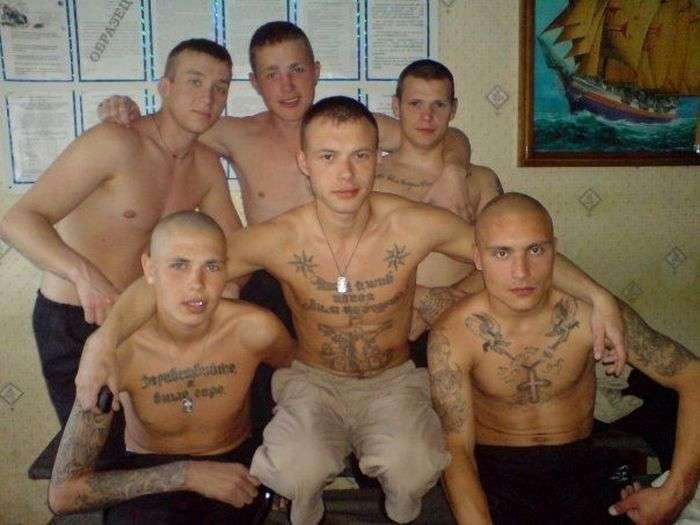 Активісти кримінального арештантського уркаганского єдності (22 фото)