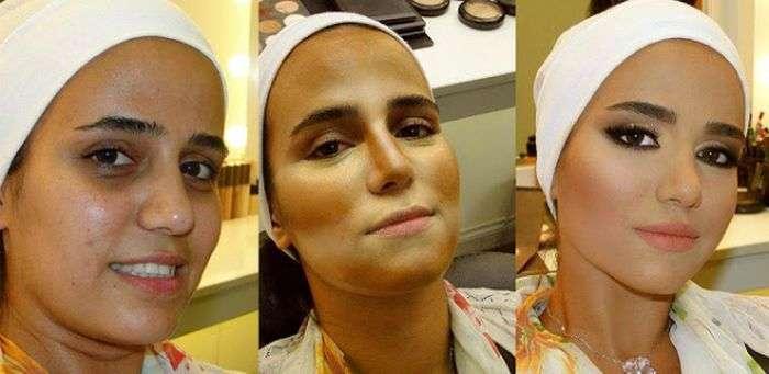 Чудеса професійного макіяжу: до і після (11 фото)