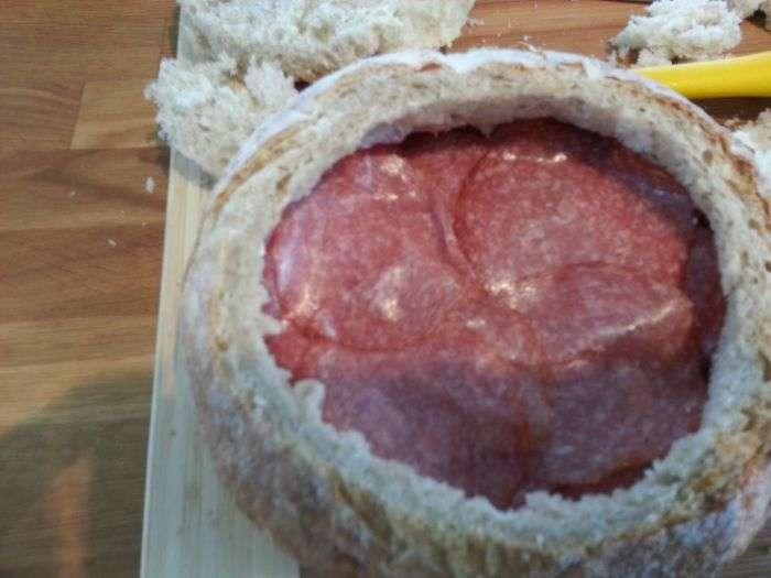 Справжній чоловічий сендвіч (18 фото)