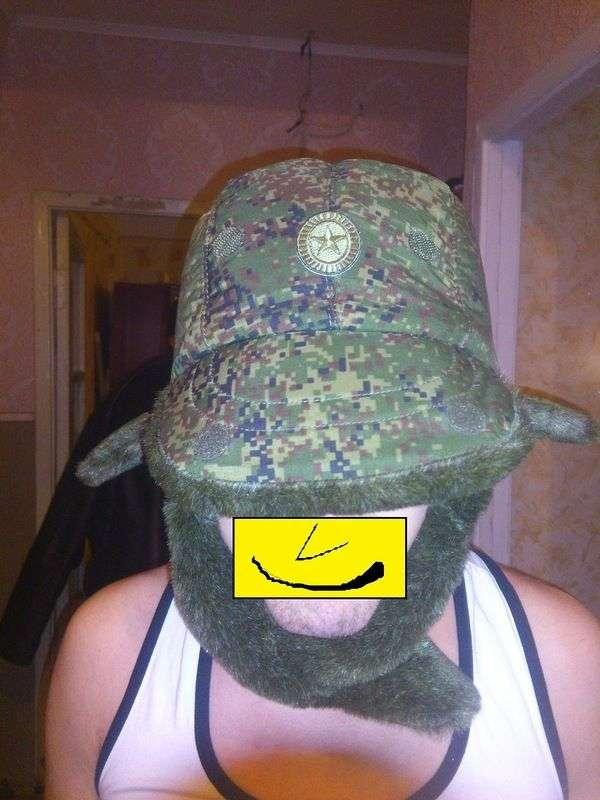 Нова модель армійської шапки - вушанки (4 фото)