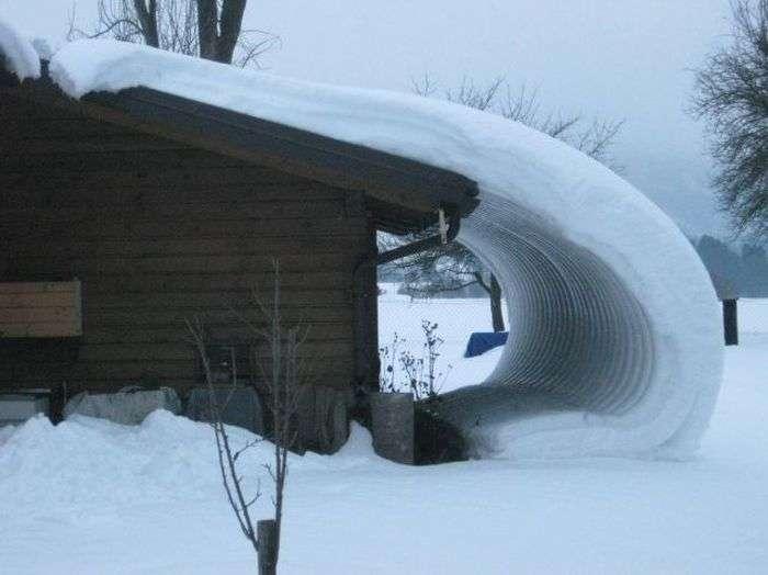 Зима розгулялася не на жарт (58 фото)