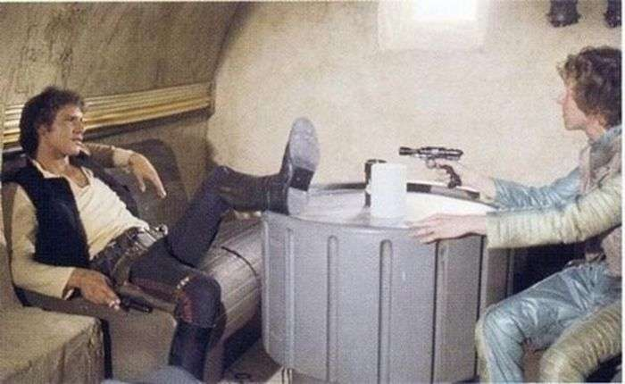 Кадри зі зйомок Зоряних воєн (50 фото)