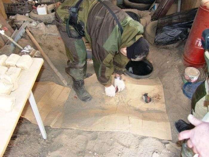 Захоплення бандитів у Плієво (14 фото + відео)