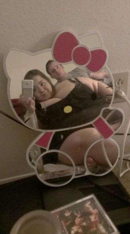 Незвичайна закохана пара (22 фото)
