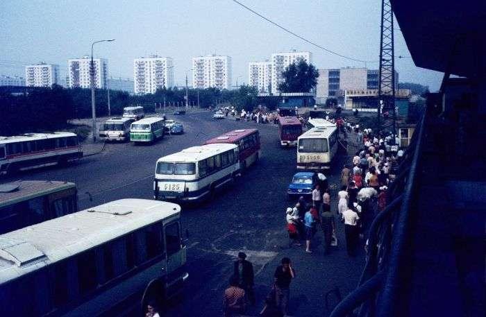 Подорож через всю територію Радянського Союзу в 1980 році (58 фото)