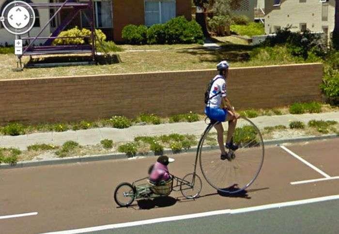 Незрозумілі знімки на Google Street View (36 фото)