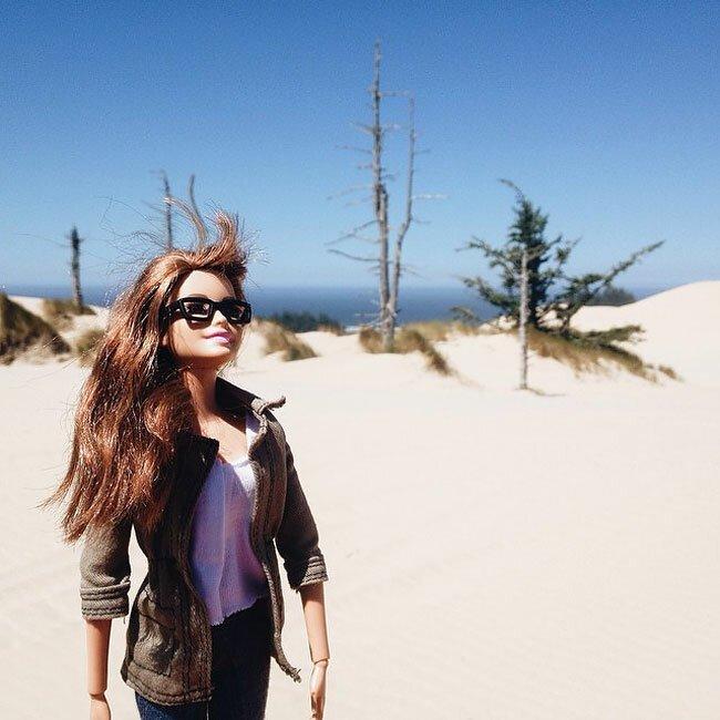 Барби-хипстер — лучший пародист Инстаграма путешествия,Путешествие и отдых