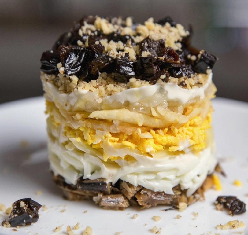 Подборка салатов с черносливом Кулинария