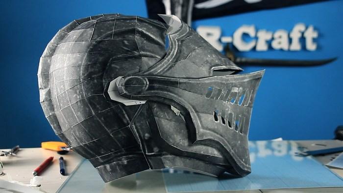 Шлем элитного рыцаря из игры Dark Souls своими руками. R-Craft мастерская