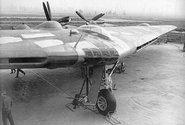 Northrop XB-35. Самолет опередивший время самолет