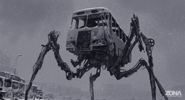 Пугающие и мрачные арты от художника Алексея Андреева всячина