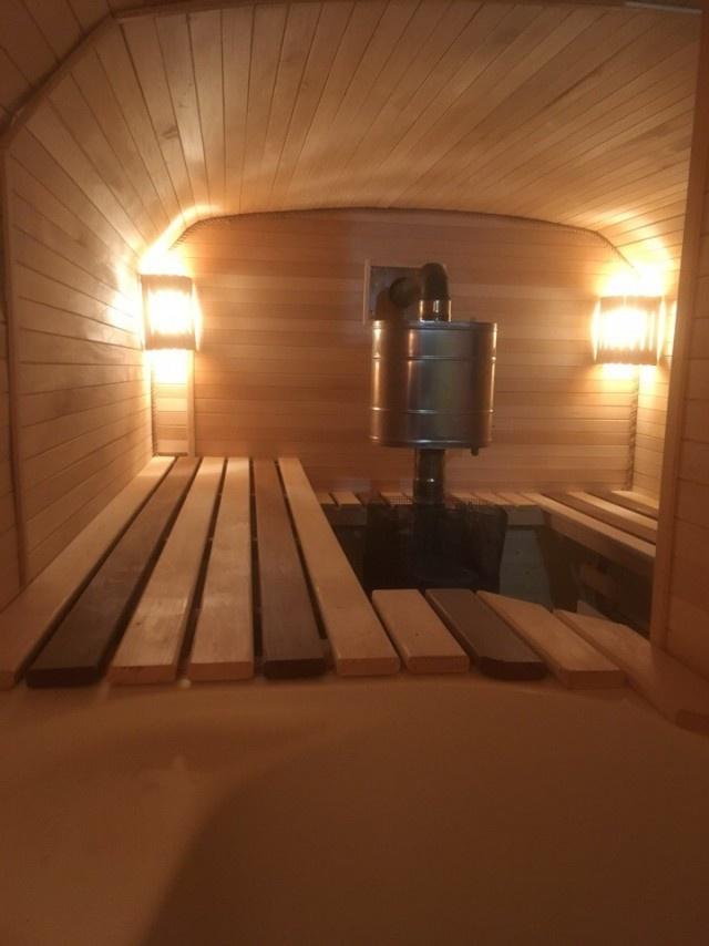 Комфортабельная баня из КУНГа своими руками всячина