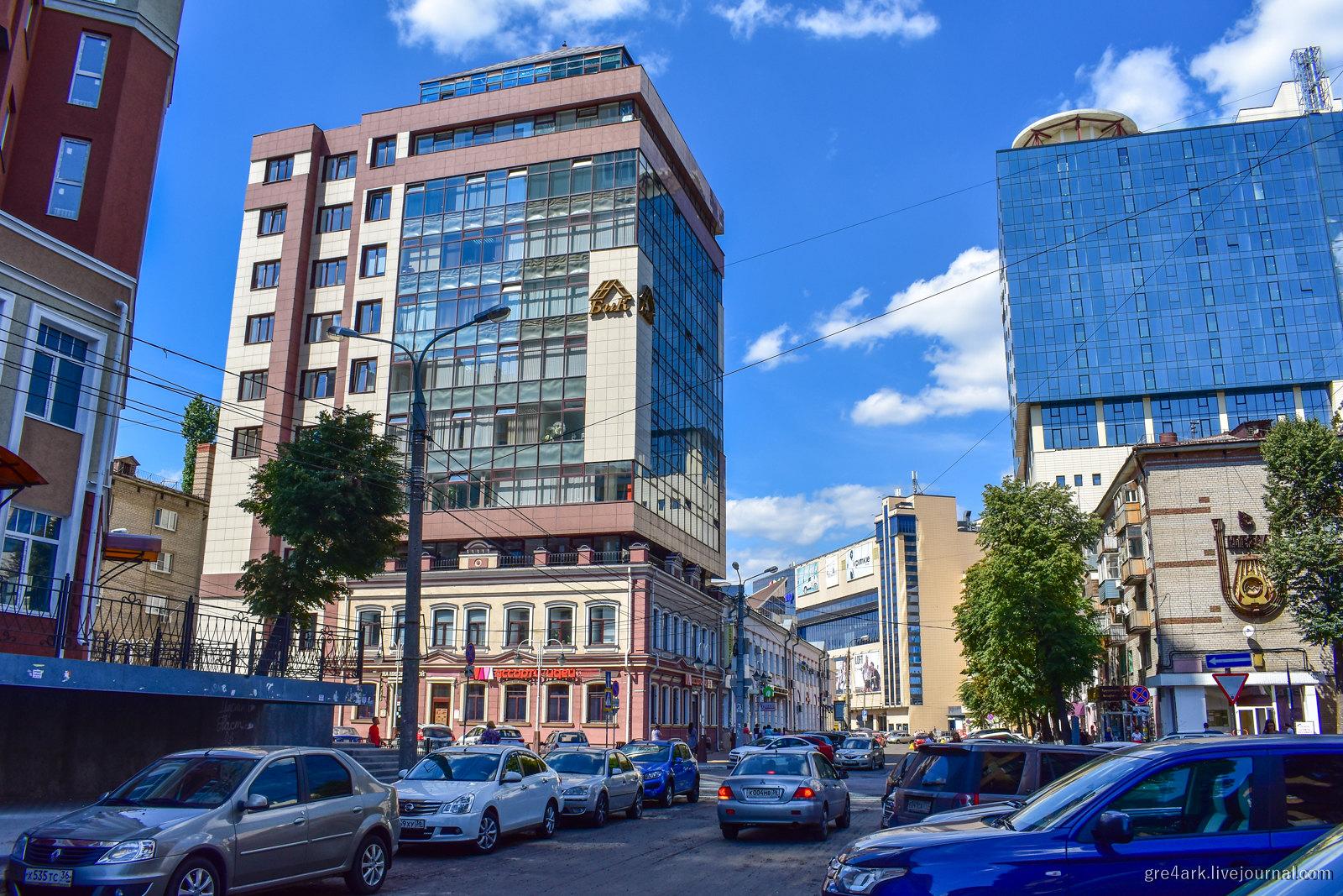 Воронеж, вам комфортно на дне? архитектура