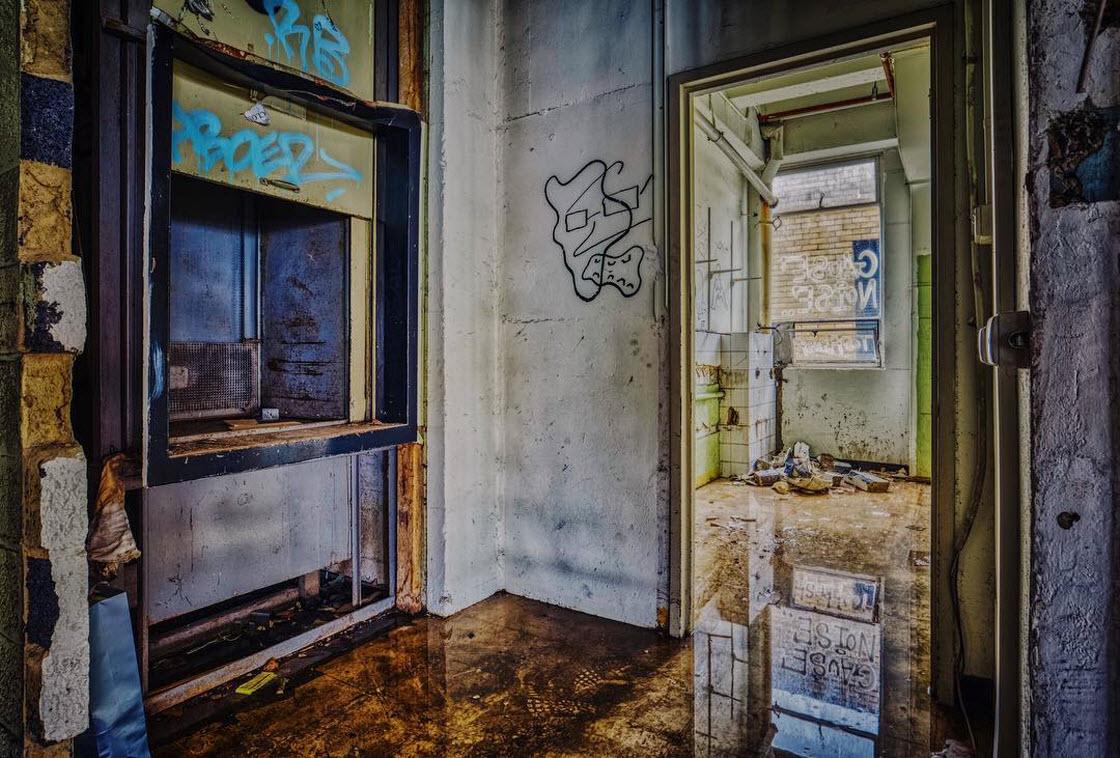 Заброшенные места Мельбурна на снимках архитектура