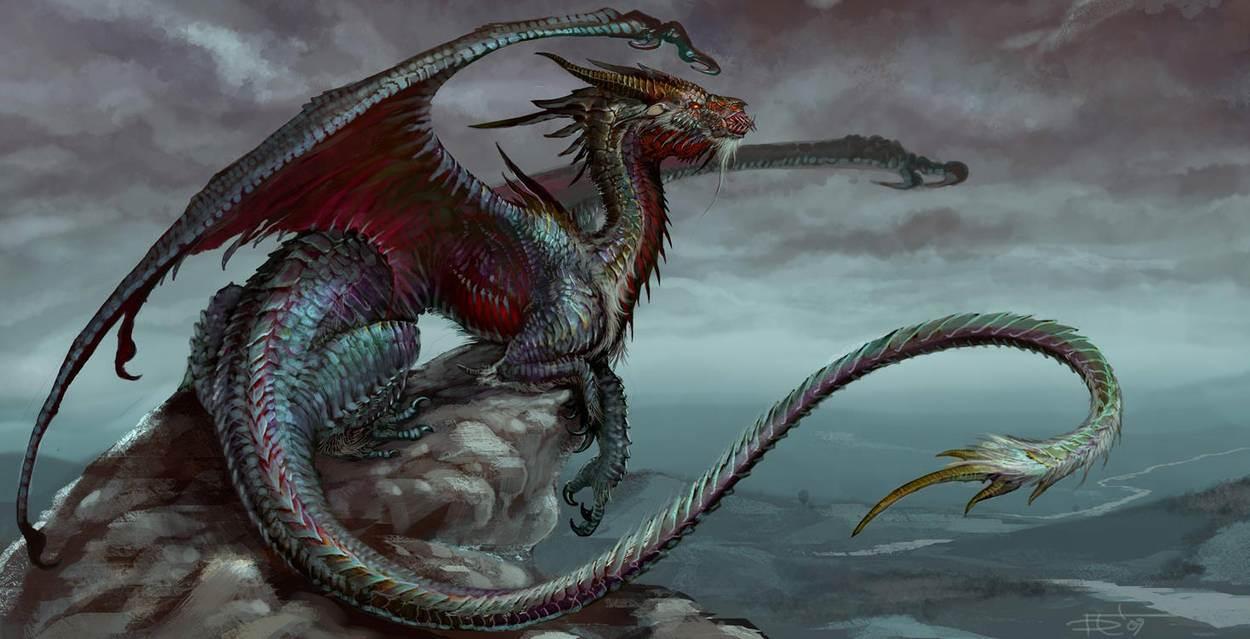 Девушки и драконы в цифровом искусстве художника Gorrem Супер новости