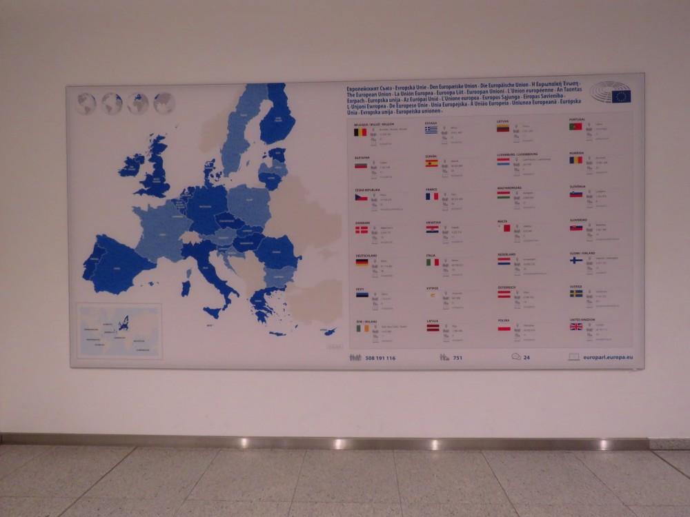 Европарламент. Святая святых европейской демократии Европарламент