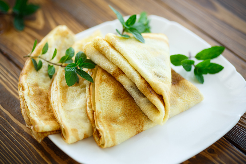 Рецепт блинного теста с растительным маслом кулинария