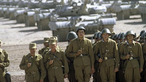 Вооруженные силы СССР середины 80-х годов. Часть 2 армия
