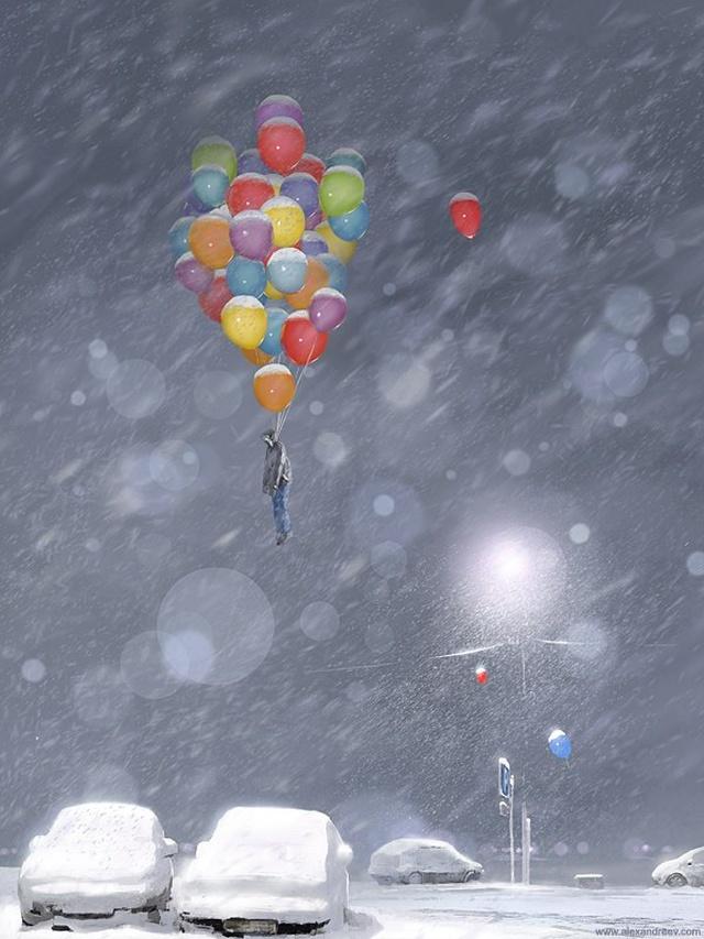Пугающие и мрачные арты от художника Алексея Андреева (30 рисунков) МиР