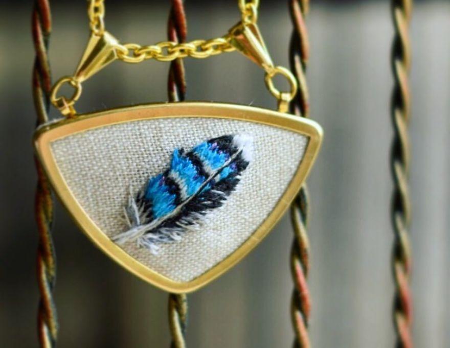 Приятная вышивка от Юлии Щербяк