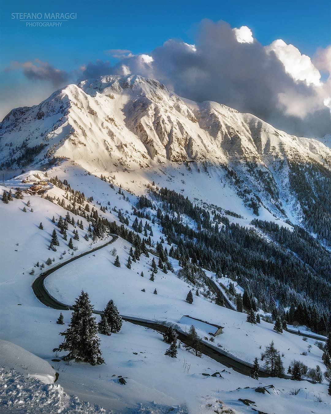 Прекрасные зимние пейзажи в Доломитовых Альпах Стефано Мараджи МиР