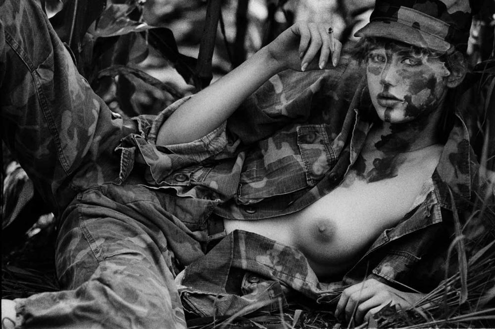Черно-белое ню: идеальные женщины Марко Главиано девушки