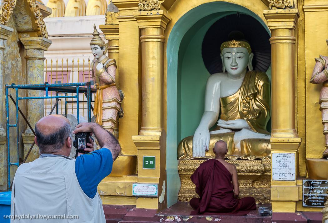 Пагода Шведагон - самое дорогое сооружение в мире строили 1500 лет 32 короля Дальние дали
